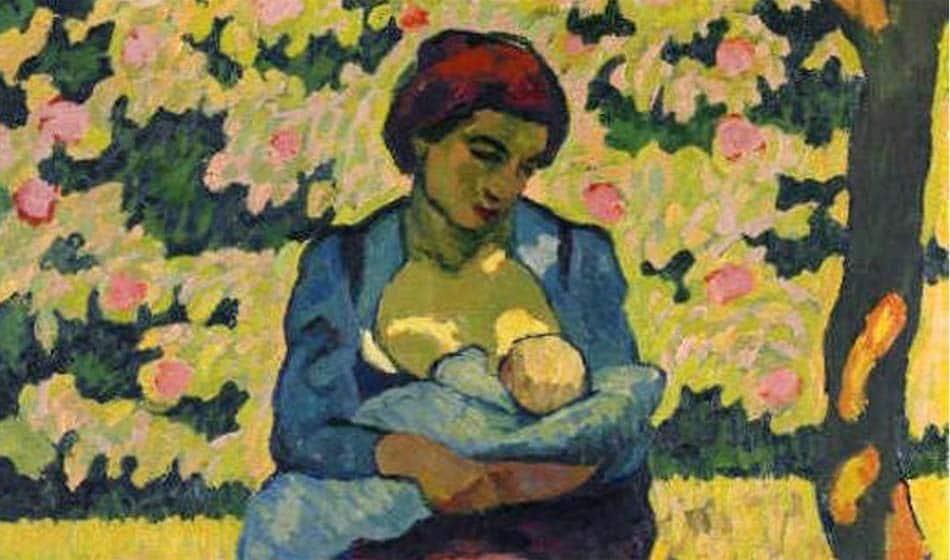 L'allaitement dans l'art