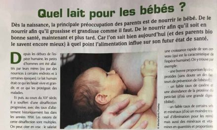 Quel lait pour les bébés ?