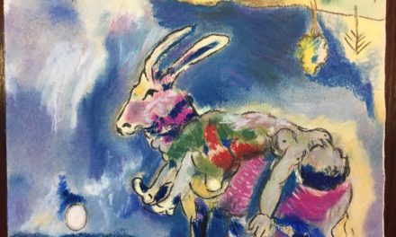 D'après Chagall, Le rêve