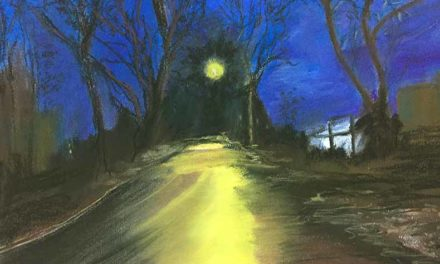 Route, la nuit