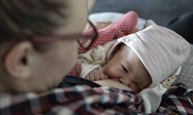 Quand un bébé allaité est malade