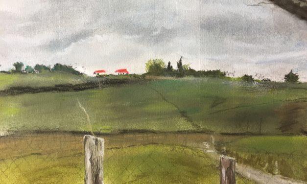 Ciel d'orage au Pays basque