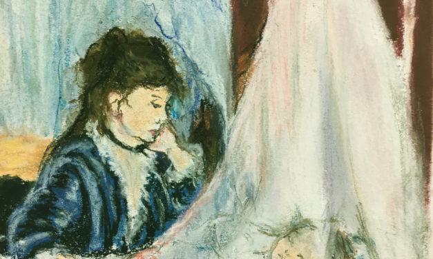"""D'après """"Le berceau"""" de Berthe Morizot"""