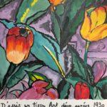 Tulipes art déco
